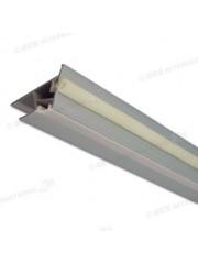 Индустриален LED профил с уплътнение и капак -2,5м