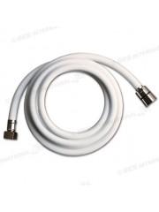 Бяла PVC тръба 150 cm за душ