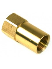 "DREHMEISTER адаптер за директно зареждане от бутилка за газ G 3/4 UNF до W21.8 x 1/14 ""LH - 68mm"