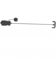 """1 """"1/2 изпускателен клапан в ABS за мръсна вода."""