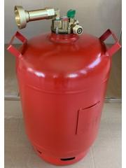 Газ бутилка 11кг с регулатор до 80% пълнене