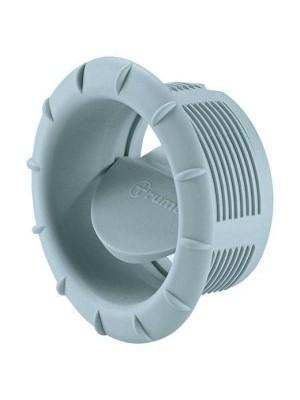 Накрайник за въздуховод с клапа - Ф60mm