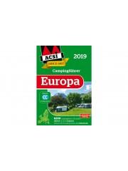 ACSI Ръководство за къмпинг Европа 2019