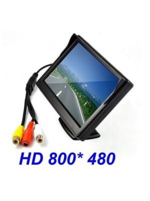 5-инчов TFT LCD монитор за автомобил с камера за задно виждане