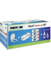 Касета за тоалетна +химия и капак за тоалетната