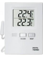 Термометър за външно и вътрешно измерване