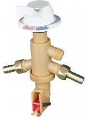Единичен лост за смесване на вода