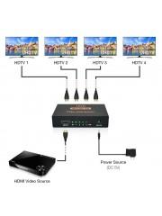 4K HDMI сплитер Full HD 1080p Видео HDMI превключвател