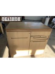 Шкаф от каравана с мивка и три котлона
