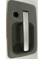 Дръжка със заключване за врата
