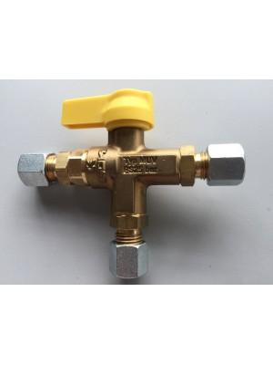 Ръчен превключващ клапан тип MUV PS 25 бара