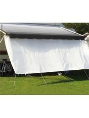 Слънцезащитна предна част за покривни и стенни сенници