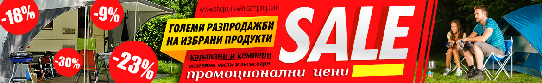 Аксесоари и резервни части за кемпери и каравани