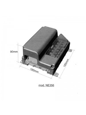Блок за управление Nordelettronica и държач за предпазители