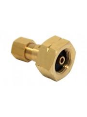 Свързващ елемент W21.8 x 1/14 LH -> 8 mm RVS