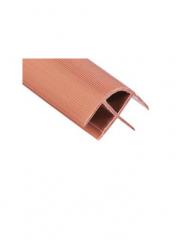 Ъглов профил за мебели от РVС